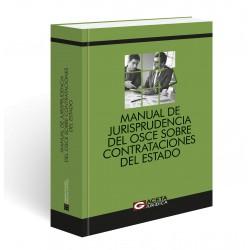 Manual de Jurisprudencia del Osce sobre Contrataciones del Estado