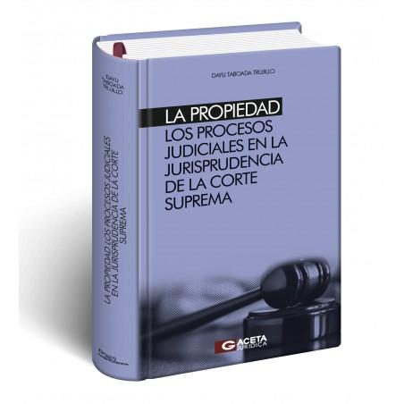 La Propiedad Los Procesos Judiciales en la Jurisprudencia de la Corte Suprema