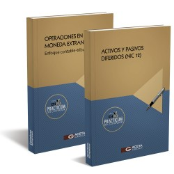 DUO PRACTICUM DEL CONTADOR ACTIVOS Y PASIVOS DIFERIDOS (NIC 12) / OPERACIONES EN MONEDA EXTRANJERA.  ENFOQUE CONTABLE-TRIBUTARIO